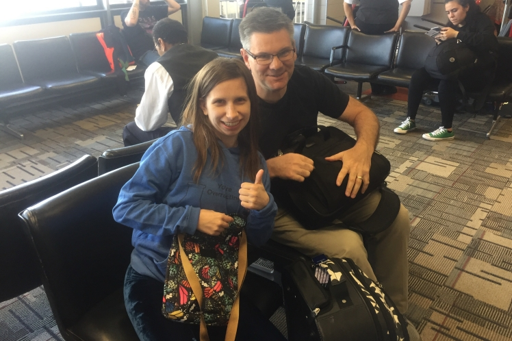 Will & Kenzie at MSP