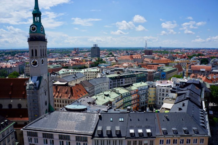 View from glockenspiel tower.