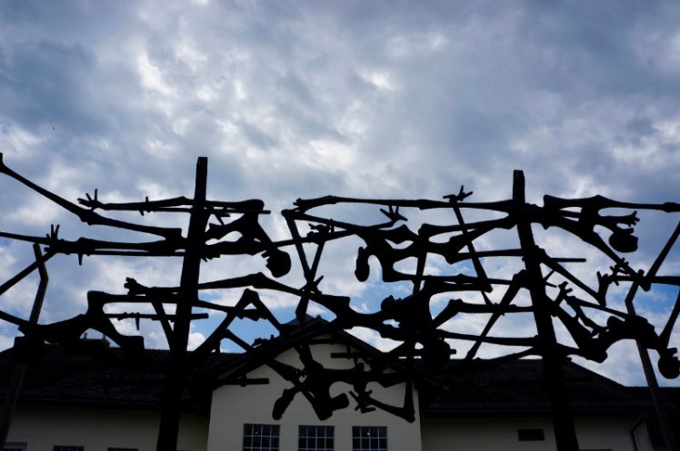 International Memorial sculpture at Dachau