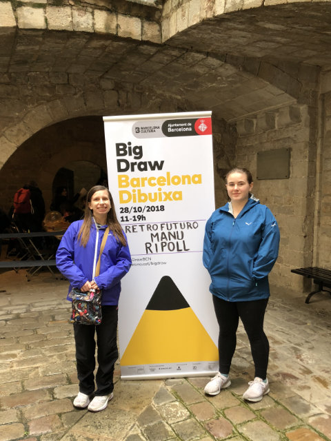 Sign for The Big Draw